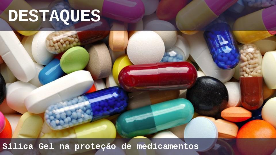 Capsulas de silica gel para medicamentos